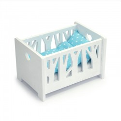 Cot for a small doll -...