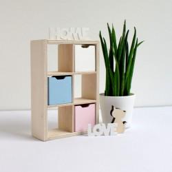 Shelf 2x3 slots