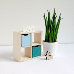 Shelf 2x2 slots