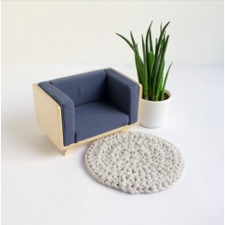 Plywood armchair