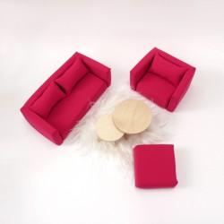 Living room set - M pink