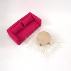 Living room set - S pink